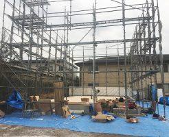 建設中-足場