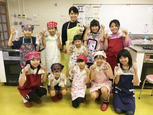 2019/08/24 MA先生のお菓子作り体験